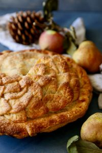 Apple Pear Pie-Perfect for Fall