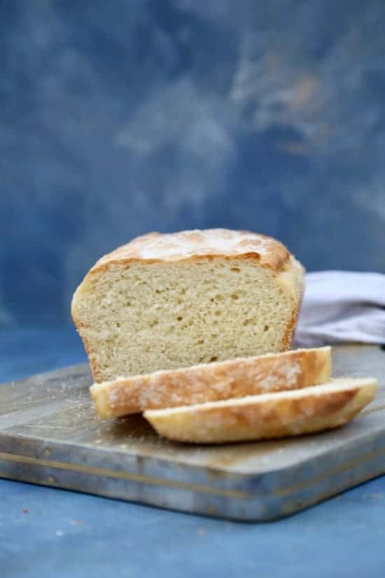 Easy English Muffin Bread