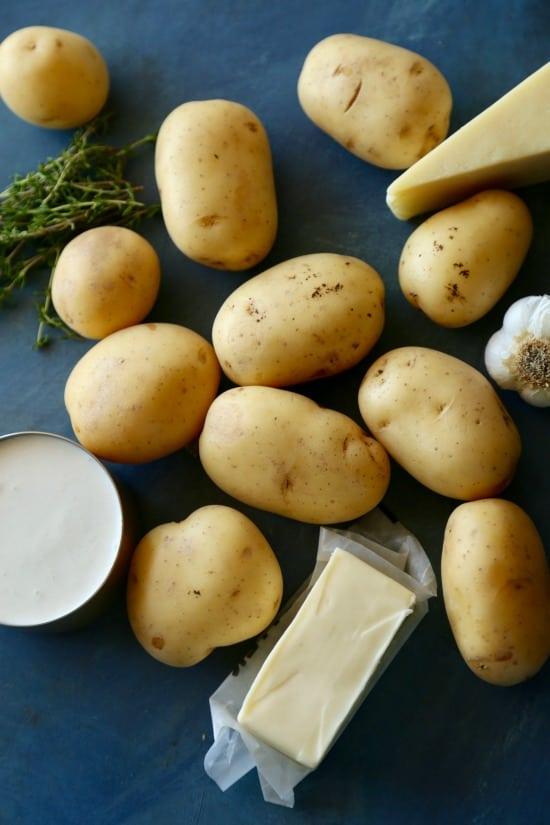 Gruyere Scalloped Potatoes