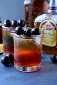 Whiskey Soaked Cherries and an Old Fashion