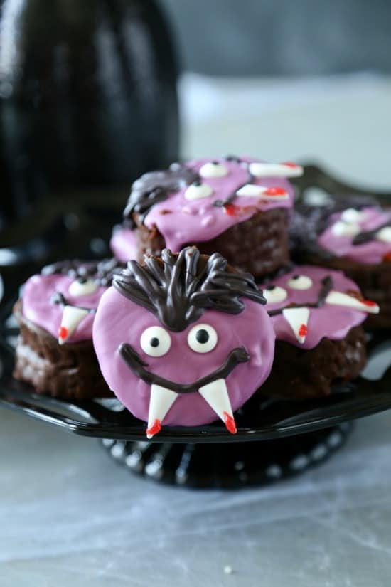 Ding Dong Vampires-4 No Bake Halloween Treats