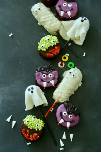 No Bake Halloween Treats-4 ways