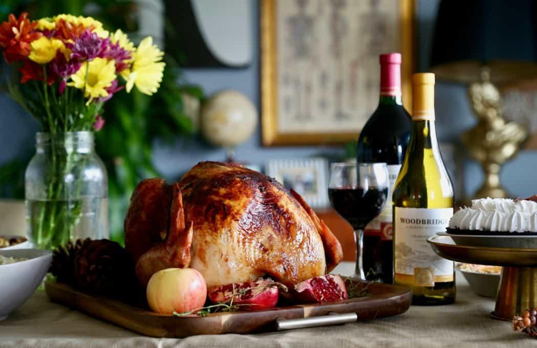 Apple Thyme Roasted Turkey