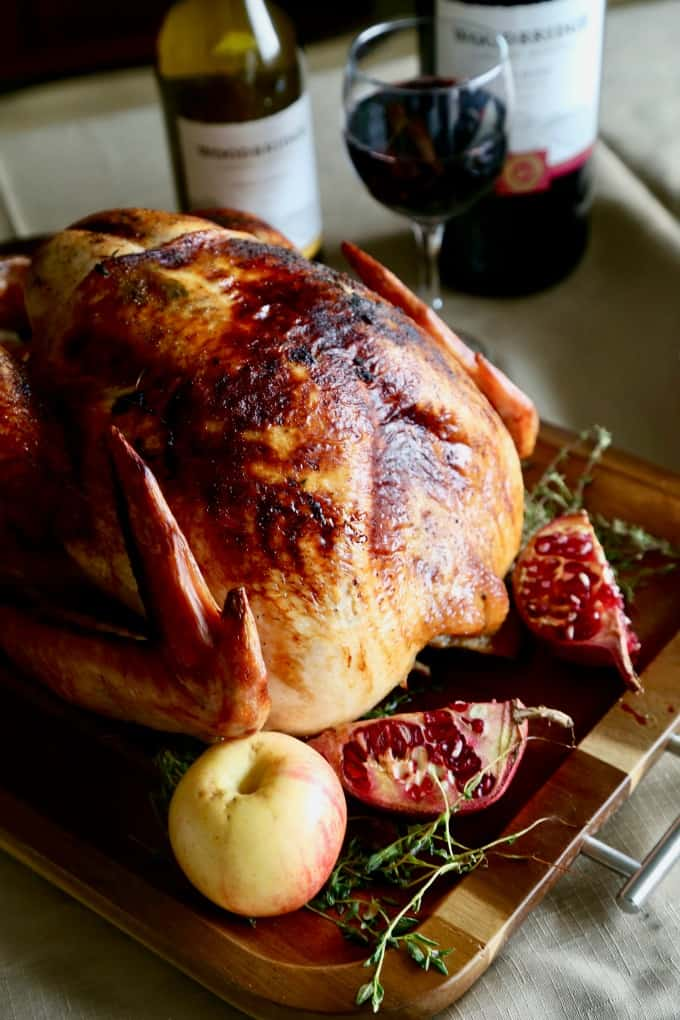 Apple Thyme Roasted Turkey