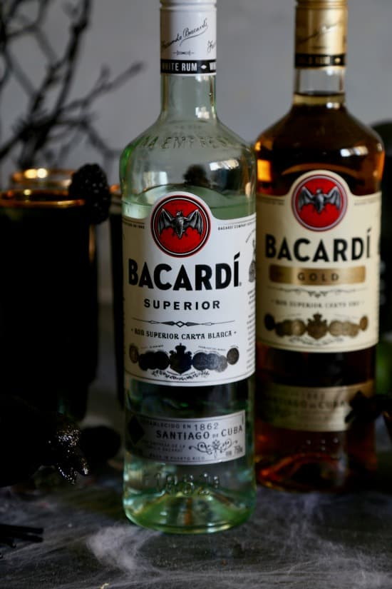 Blackberry Rum Cocktail