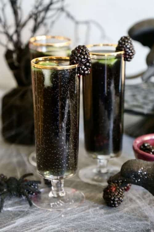 Blackberry Rum Cocktail