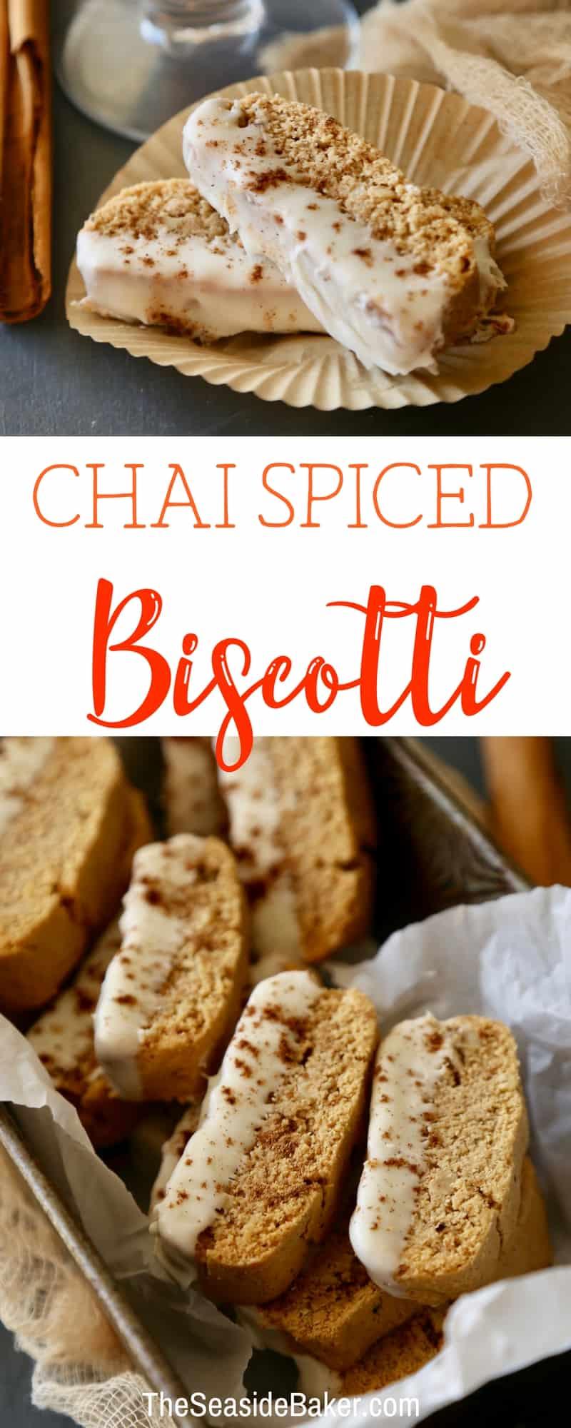 Chai Spiced Biscotti