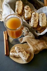 Chai Spiced Biscotti-Perfect with a cup of coffee