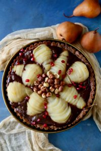 Chocolate Pear Tart & New GROHE Faucet