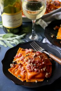 Butternut Squash Ravioli- Homemade and Delicious