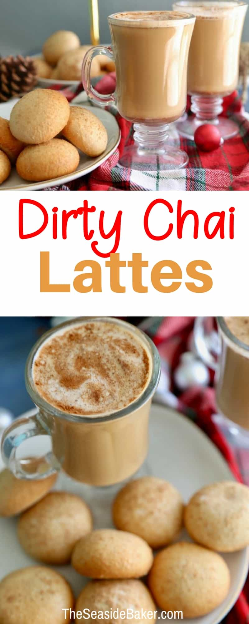 Dirty Chai Lattes