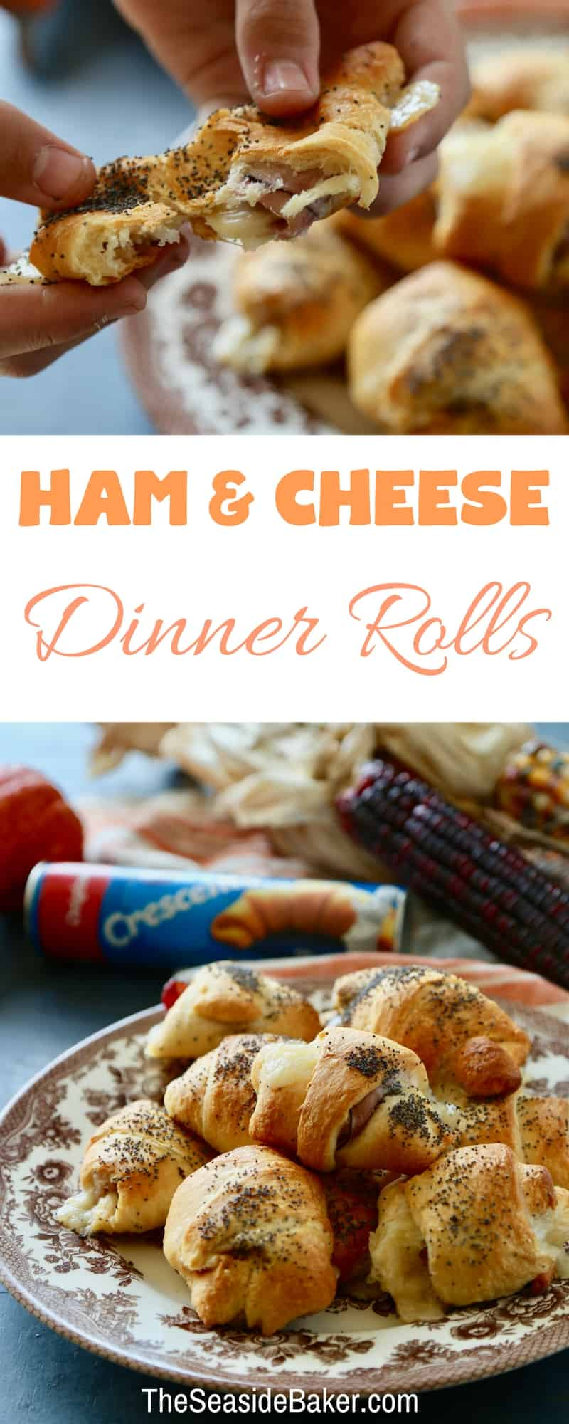 Ham and Cheese Dinner Rolls-5