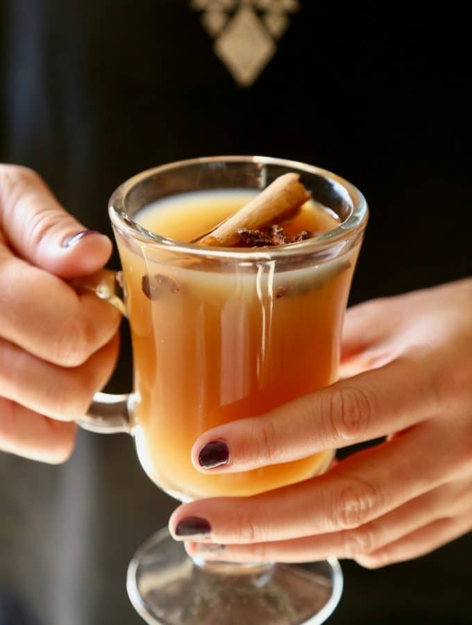 Hot Apple Pear Cider