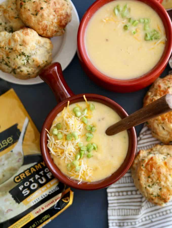 Cheese Garlic Biscuits