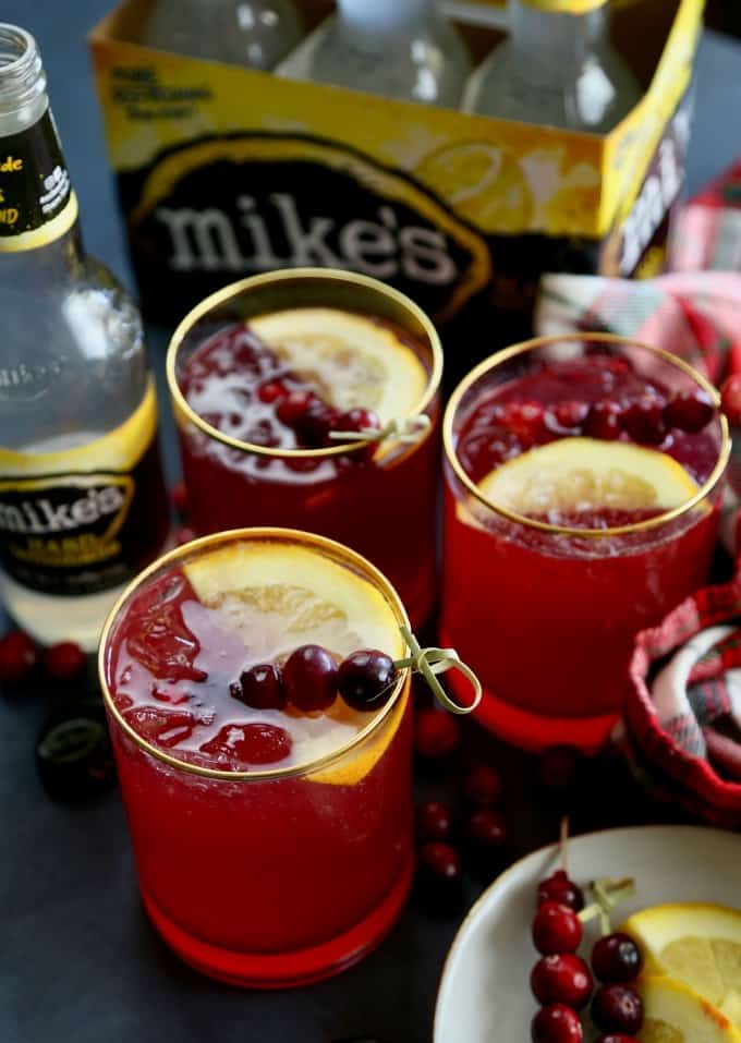 Cranberry Orange Hard Lemonade