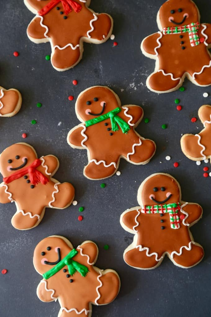 Gingerbread Man Sugar Cookies