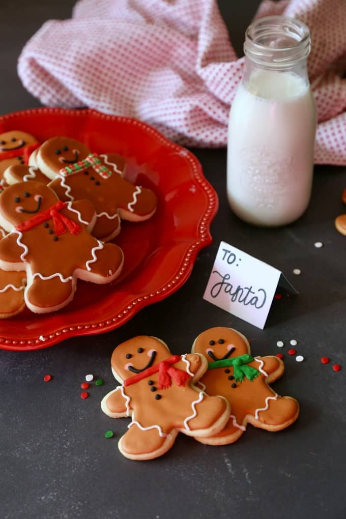 Gingerbread Man Sugar Cookies