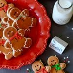 Gingerbread Man Sugar Cookies- with Video