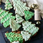 Gingerbread Ombre Christmas Trees