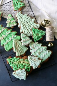 Ombre Gingerbread Christmas Trees