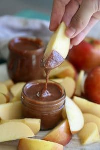 Homemade Nutella-with Delicious EverCrisp Apple Slices