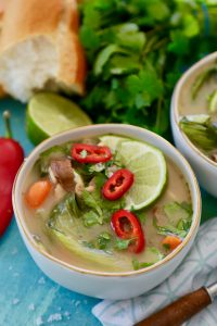 Thai Chicken Noodle Soup- Crock Pot