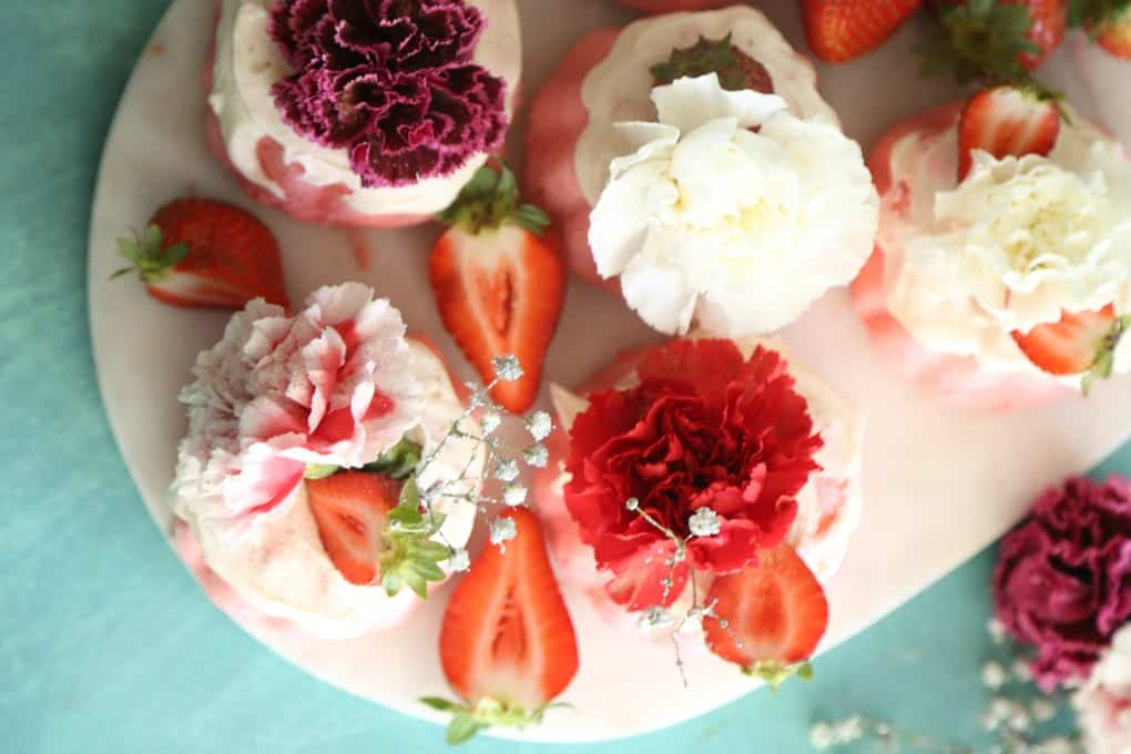 Strawberry Mini Bundt Cakes