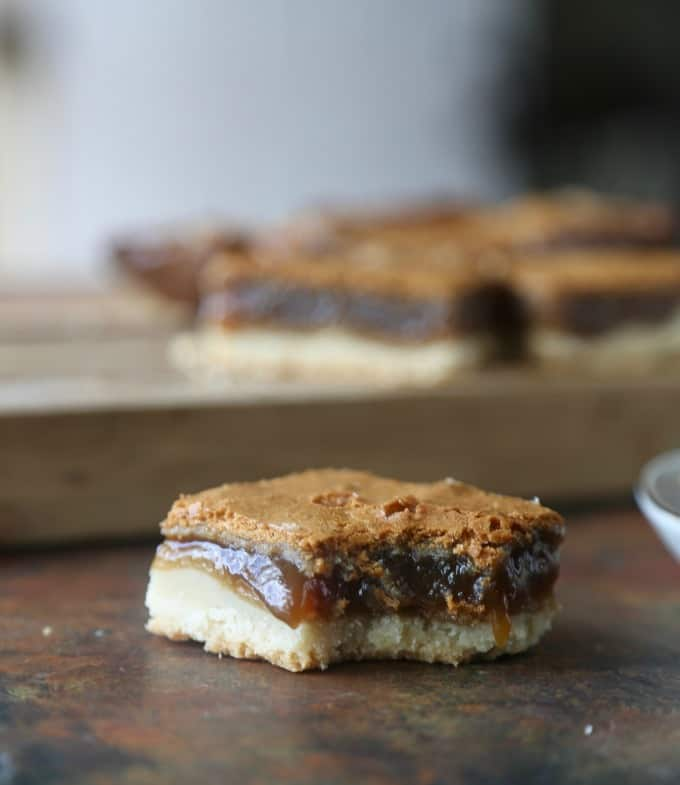 Brown Sugar Shortbread Bars
