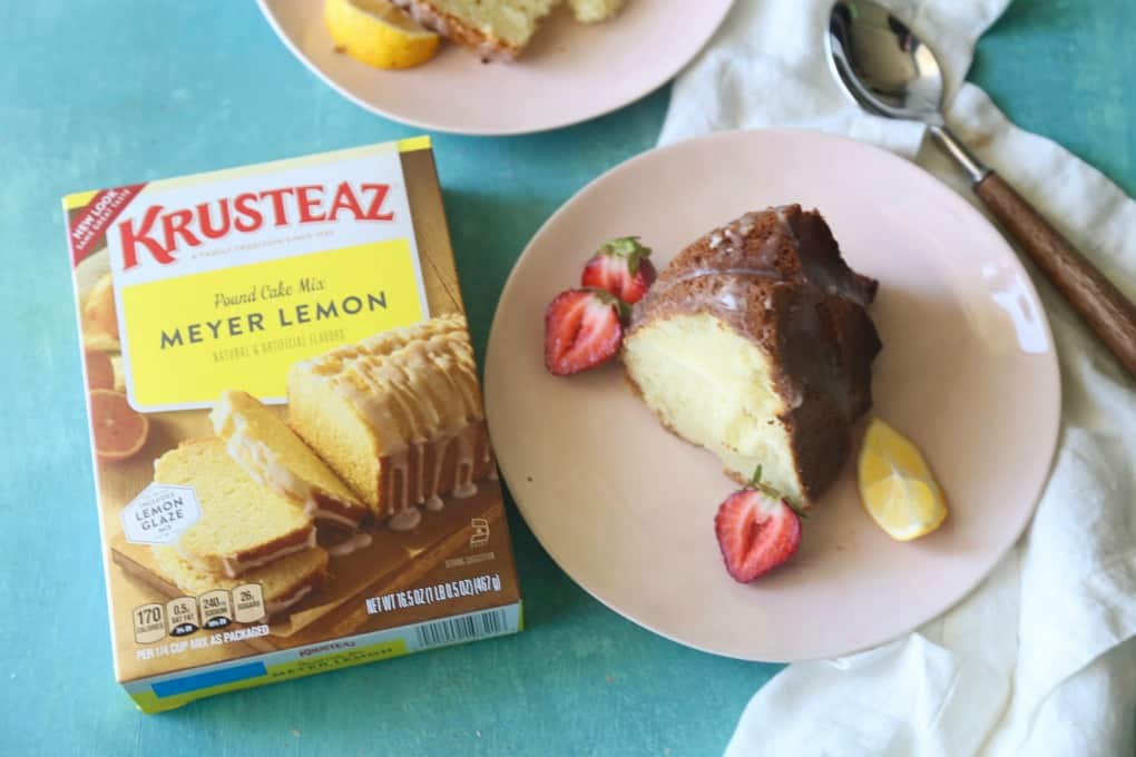 Meyer Lemon Cream Cheese Bundt Cake