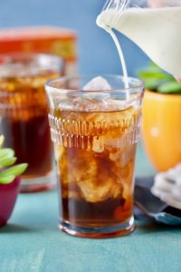 Coconut Iced Coffee- with Dunkin' Donuts Cold Brew Coffee