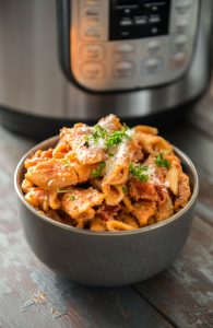 Instant Pot Pasta- Five Cheese Ziti