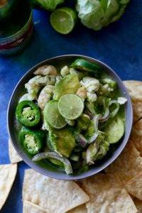 Mexican Shrimp Ceviche