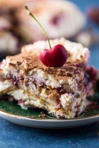 Cherry Almond Tiramisu