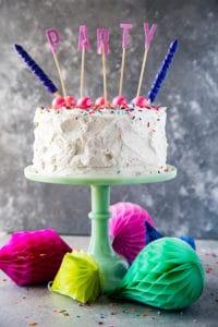 Vanilla Funfetti Cake with VIDEO