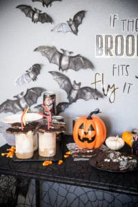 Halloween Root Beer Floats