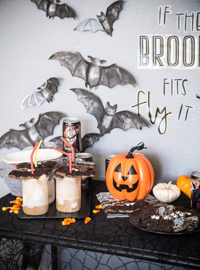 Halloween Root Beer Floats