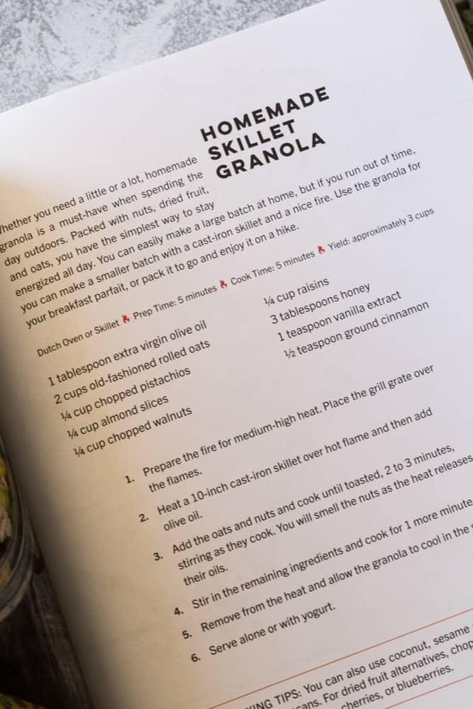 Homemade Skillet Granola