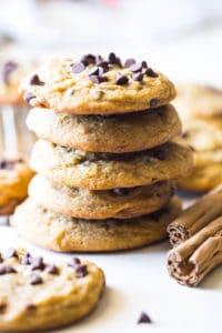 Pumpkin Chocolate Chip Cookies-Video