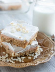 Scotcharoo Cheesecake Bars