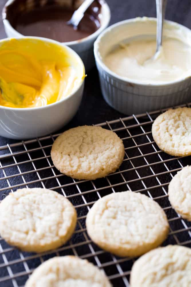 Fall Buttermilk Pumpkin Spice Sugar Cookies