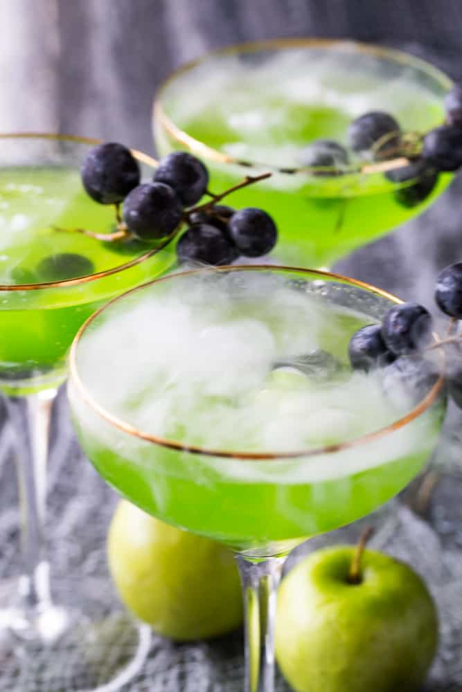 Poison Apple Cocktails