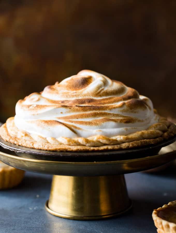 Sweet Potato Pie with Marsmallow Topping-2