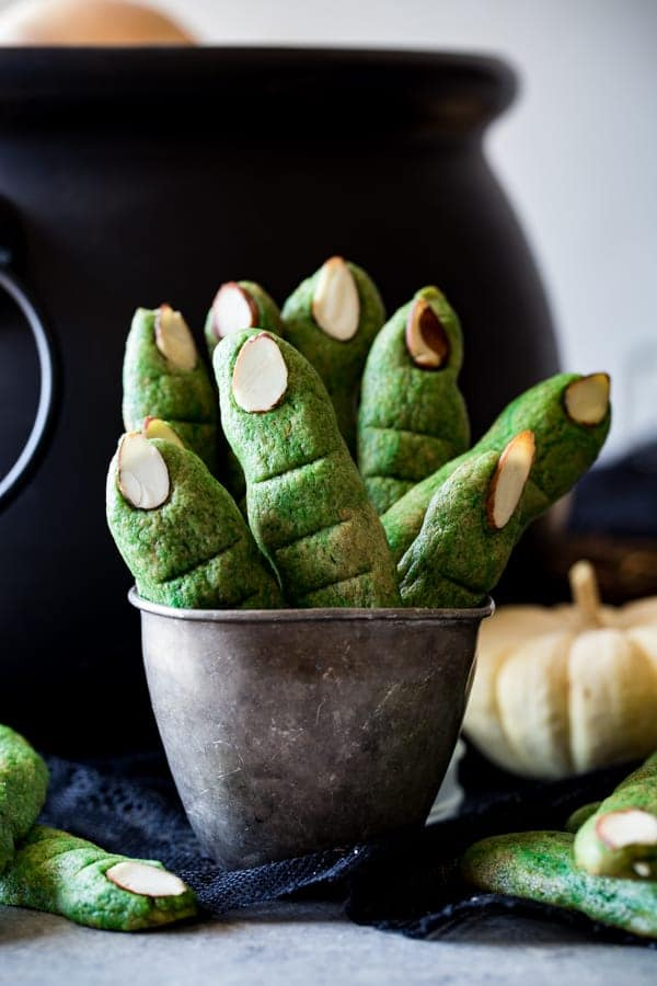 Witch Finger Cookies