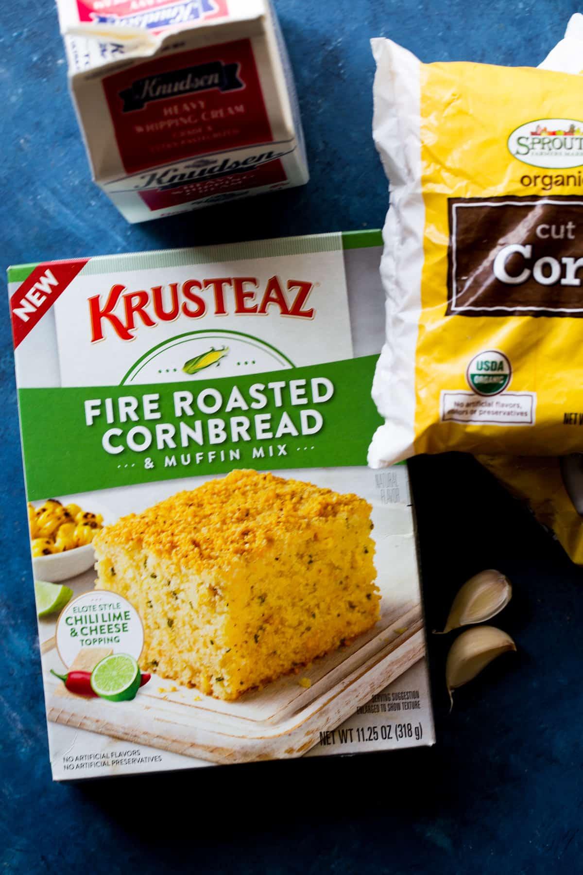 Creamed Corn Cornbread Casserole
