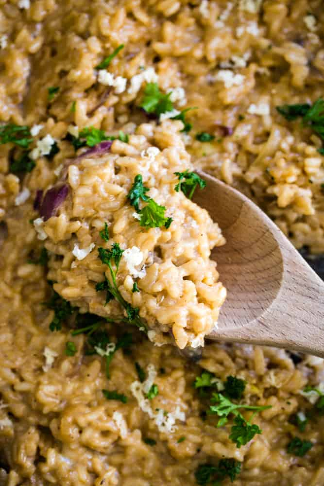 Guinness Risotto