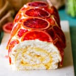 Blood Orange Roulade