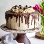 Coffee Layered Cake with Mascarpone Frosting
