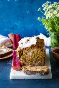 Rhubarb Streusel Bread