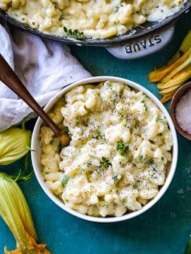 Zucchini Mac and Cheese