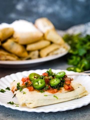 Jalapeño Cheese Tamales